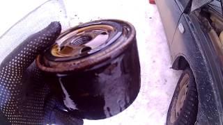 видео Замена масла в двигателе ВАЗ 2112 16 клапанов