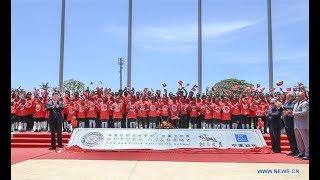 Xi, O'Neill unveil PNG, China friendship school | CCTV English