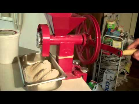 Grinding Flour with the GrainMaker Grain Mill - A Review