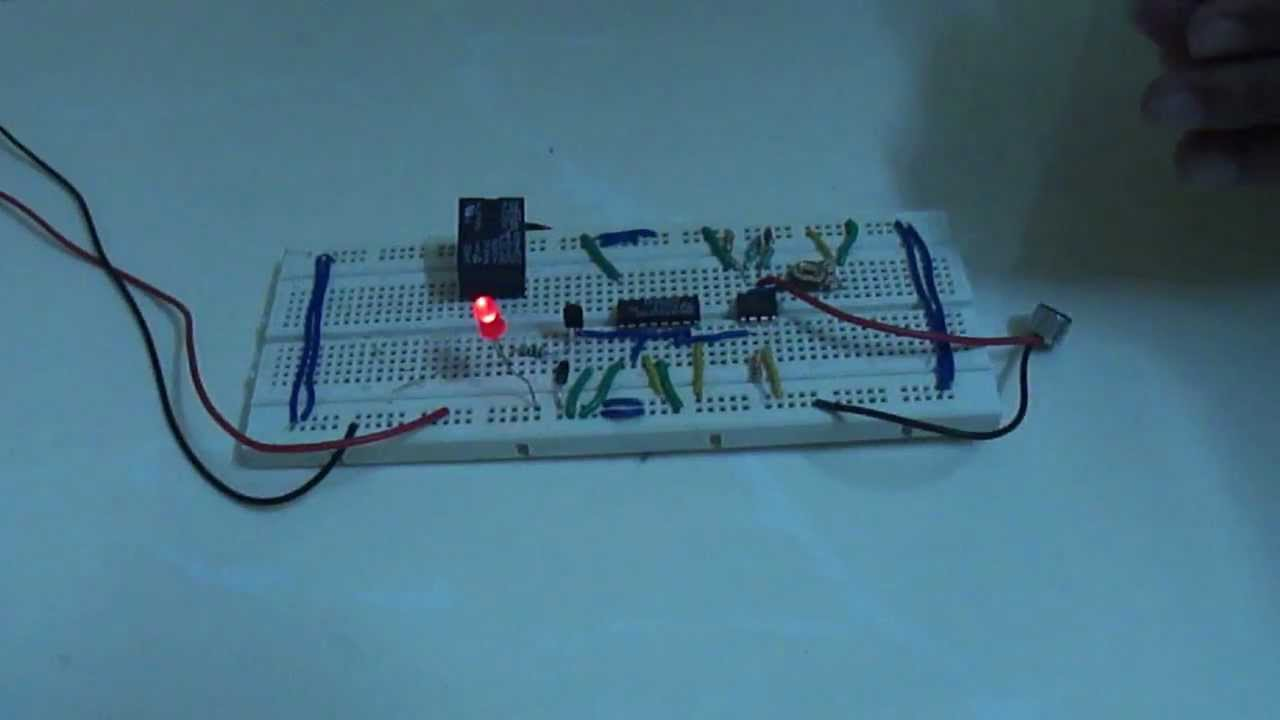 Sound Operated Switch Youtube Clap Circuit Double Homemade