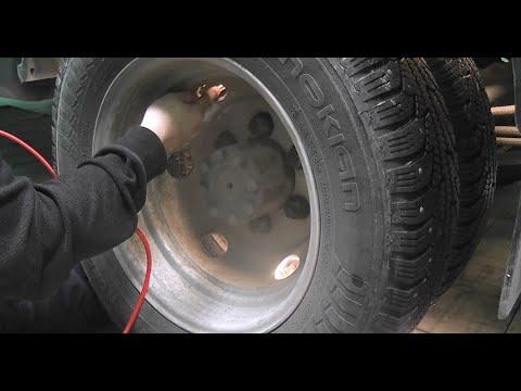 Газель - подкачка колёс.  Проблема и её решение!!!
