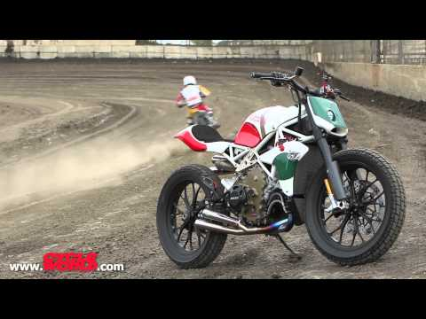 Riding Roland Sands Design's Desmosedici Street Tracker