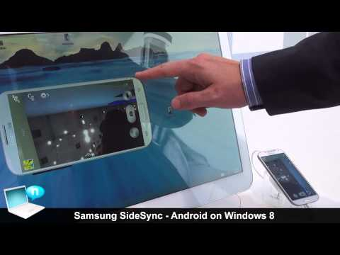 Samsung SideSync Android devices on Windows 8