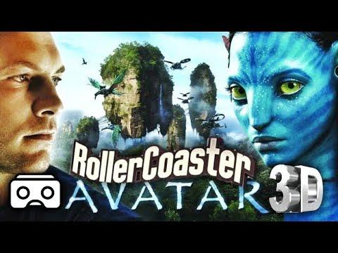 🔴 VR Avatar 3D Split Screen VR Roller Coaster 3D SBS for VR BOX 3D not 360 VR