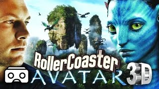 🔴 VR Avatar 3D Split Screen VR Roller Coaster 3D SBS for VR BOX 3D not 360 VR