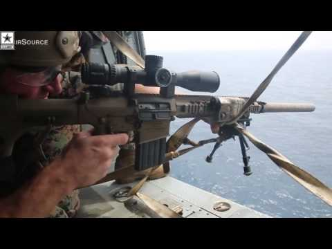 Military | Scout Snipers – Aerial Sniper Training On Helicotper