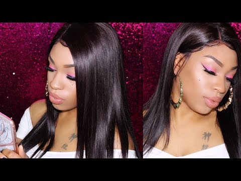 HOW TO CUT EAR TABS & LAY YOUR FRONTAL WIGS EXTRA FLAT | MULAN WIGS