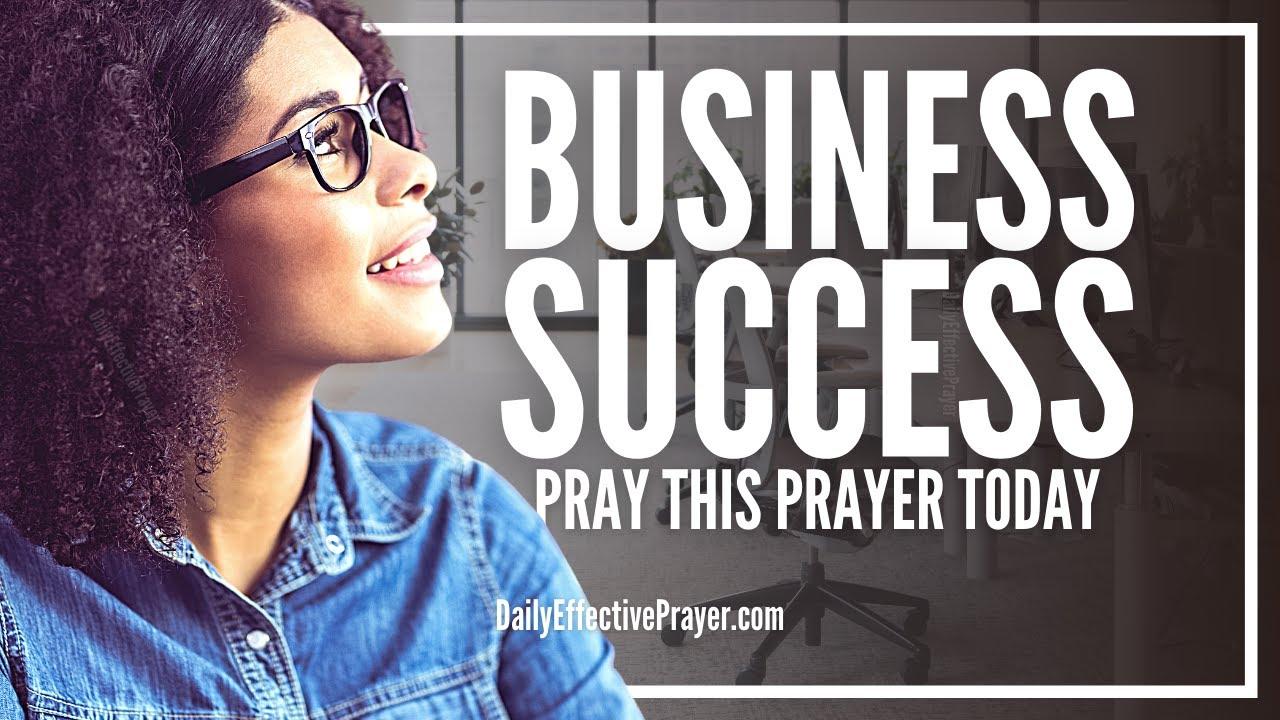 Prayer For Success In Business Abundance