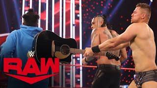 Damian Priest w/ Bad Bunny vs. Jaxson Ryker w/ Elias: Raw, Mar. 15, 2021