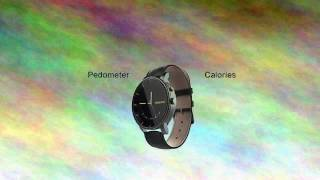 Trasense TS-H03PRO Bluetooth Smart Quartz Watch With Luminous Dials and Stainless Steel Case
