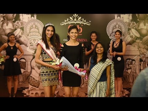 Unveiling of fbb Colors Femina Miss India Odisha finalists