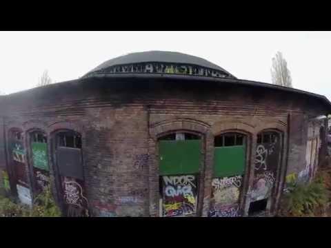 """lost places""  in Berlin Lokschuppen in Pankow"