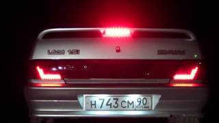 видео Задние фонари на ВАЗ 2114 - доработка, установка оптики своими руками