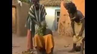 Обряд перед свадьбой.Африка