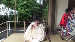 事の次第> 源義経公の墓所は、御首が藤沢白旗神社に、御胴は栗原市栗駒...