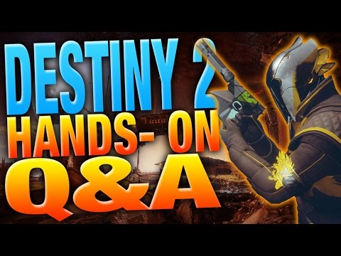 Destiny 2 Reveal Q&A - PC VS. Console - 30 FPS - Dedicated Servers - Halo Influence - Gun Feel