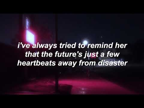 pierce the veil - kissing in cars (lyrics)