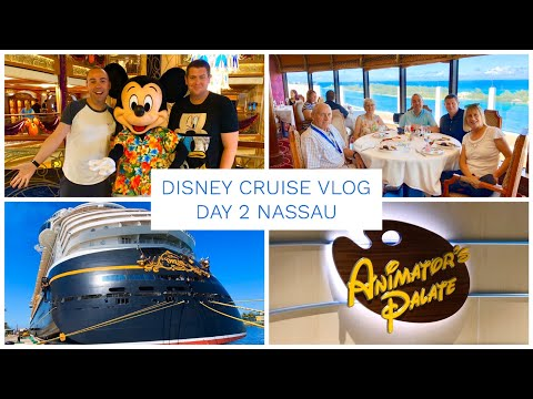 DISNEY CRUISE VLOG DAY 2 - DISNEY DREAM - PALO BRUNCH, NASSAU & PIRATE NIGHT