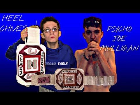 Heel Chives vs. Psycho Joe Mulligan: Sin City Championship Match  (LRW)