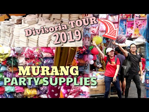 2019 Price Update - MURANG PARTY SUPPLIES AT IBA PA /Vlog 21