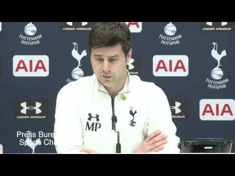 Mauricio Pochettino pre Tottenham vs Arsenal