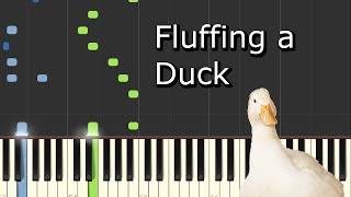 Gambar cover [Kevin MacLeod - Fluffing a Duck] Piano Tutorial