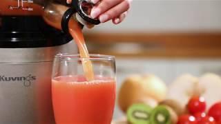 Máy ép trái cây tốc độ chậm công nghiệp hiệu Kuvings CS520CB Juice 01 BY https://bepnhatoi.com