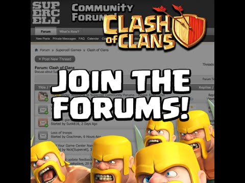 Clan Waring with the Forum Chatters  | Clash of clans community event