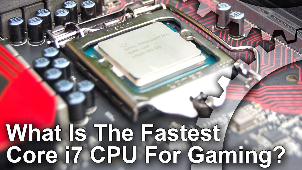 Core i7 Face-Off: which is the fastest gaming CPU? • Eurogamer net
