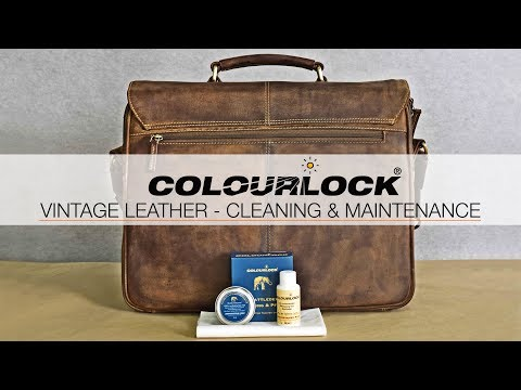 CLEANING & LEATHER CARE - VINTAGE LEATHER BAGS