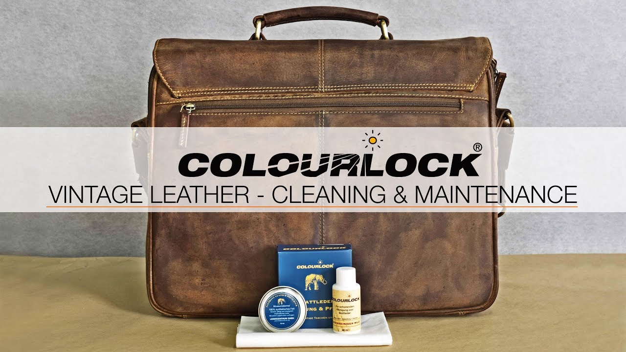 Cleaning Leather Care Vintage Bags