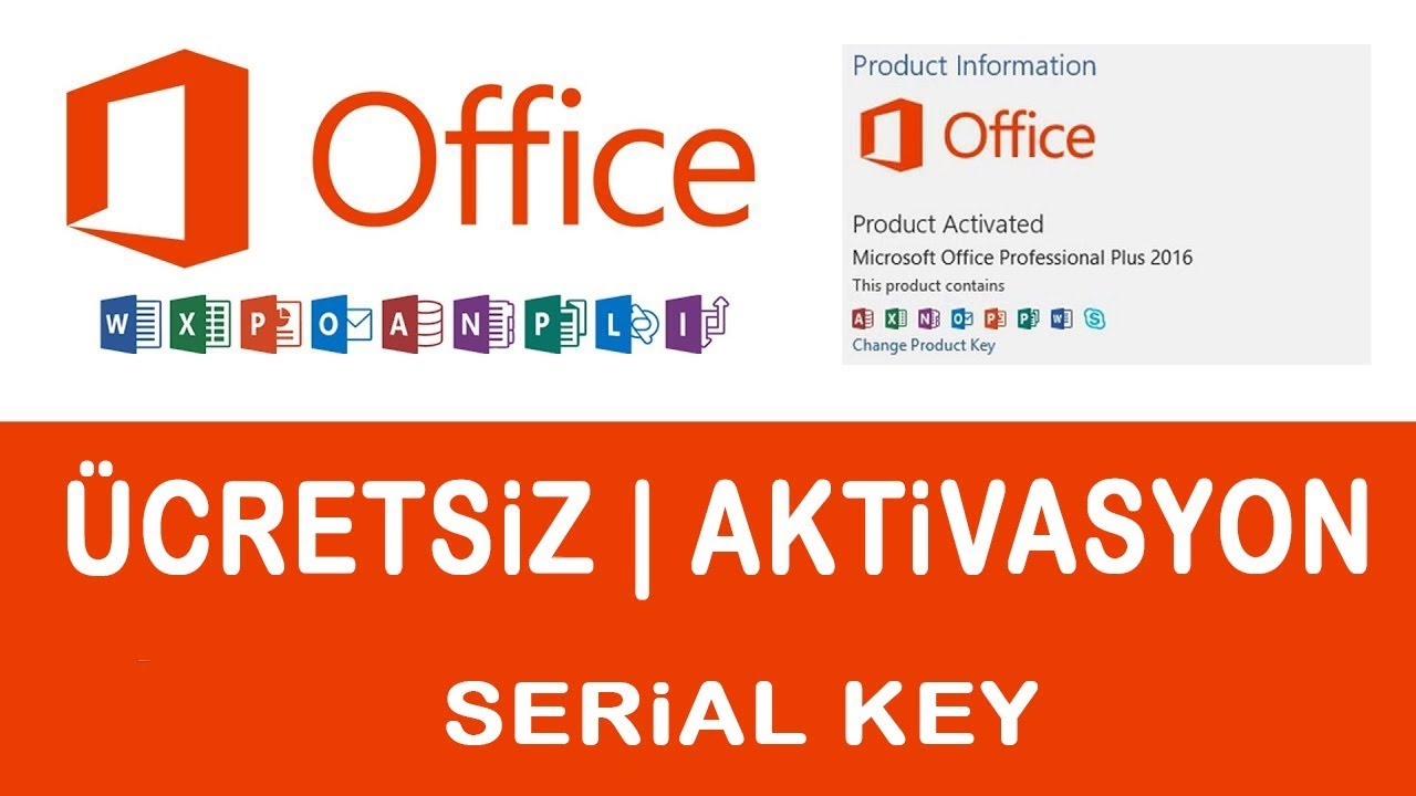 Microsoft Office 2010 SERİAL KEY - 2019 Güncel - YouTube
