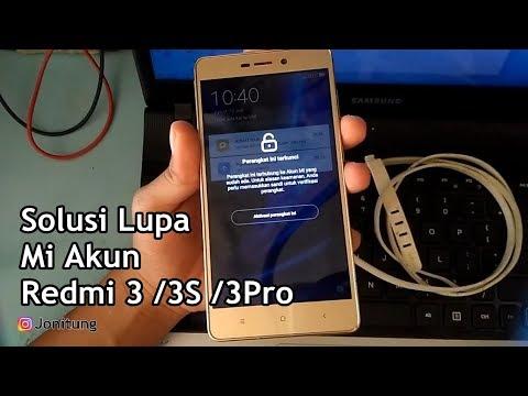 solusi-lupa-mi-cloud-xiaomi-redmi-3-/3s-/3pro-work-100%
