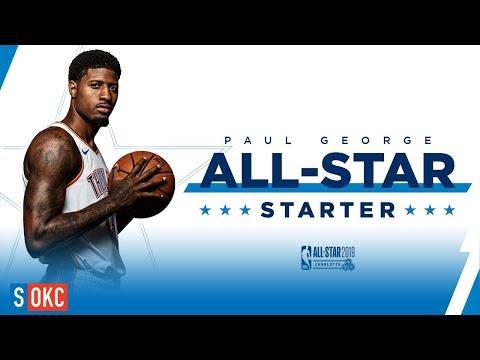 Paul George: 2019 NBA All-Star Starter Highlights | 2018-19 NBA Season