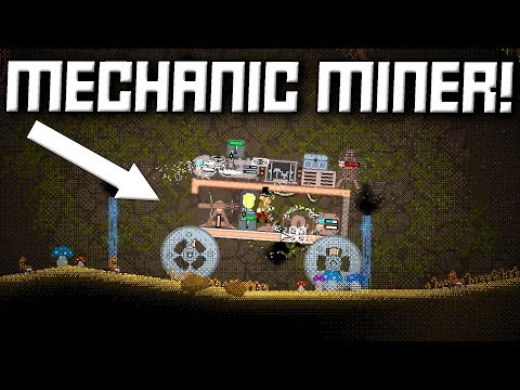 STEAMPUNK BUILDING / SURVIVAL GAME! Mechanic Miner First Look