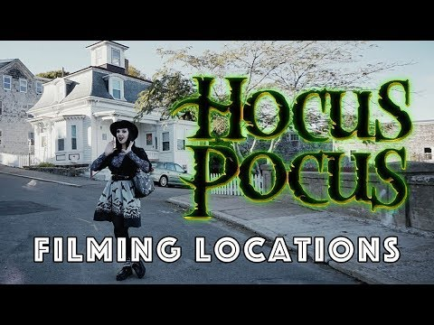"""HOCUS POCUS"" FILMING LOCATIONS + Halloween in Salem, MA!"
