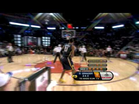 2009 Foot Locker 3-Point Shootout: Danny Granger (1st round)