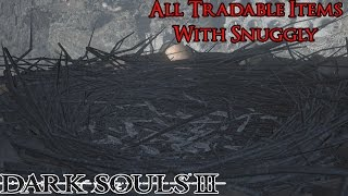 Dark Souls 3 - All Tradeable Items With The Crows [Item Locations In Description]