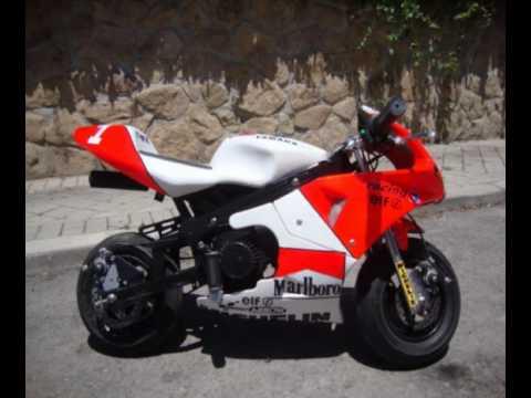 Pocket Bike Marlboro Yamaha Team Minimoto