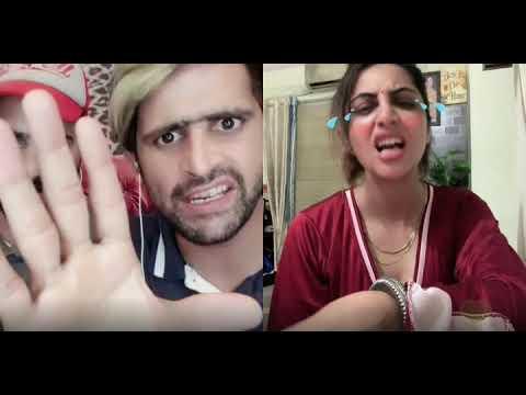 Arshi in Hot Mood Indian actres Arshi Khan  on Bigo2019 august