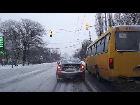 Обучение вождению автомобиля зимой