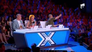 Roberto Velisar primeste doi de DA si un NU din partea juratilor X Factor Romania!