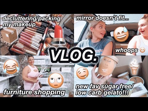 weekly-vlog-🎥-furniture-shopping-with-riley+-mirror-disaster-😬-fav-keto-icecream-omg🍦jaz-hand