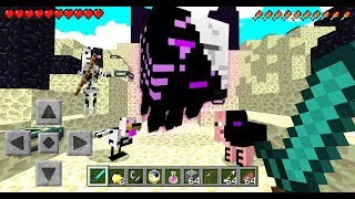 MINECRAFT 100,000 INFECTED MOBS vs 2 YOUTUBERS! - Minecraft Mods (MCPE)