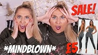 I'M SHOOK! Shopping on a budget! Missguided SALE Cyber Week TRY ON haul! ad