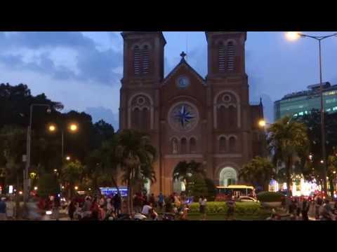 Sai Gon city - Sài Gòn tưng bừng đón Giáng Sinh và Năm Mới 2017.