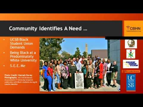 Community Defined Practices for Ethnic Populations Series: African-American Focus