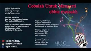 tembang kenangan Obbie Messakh lirik -album1