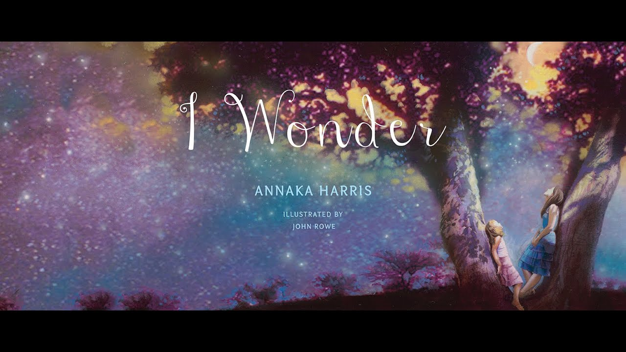 I Wonder Book Trailer YouTube