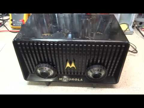 My First Childhood Radio 1956 Motorola 56R Repair